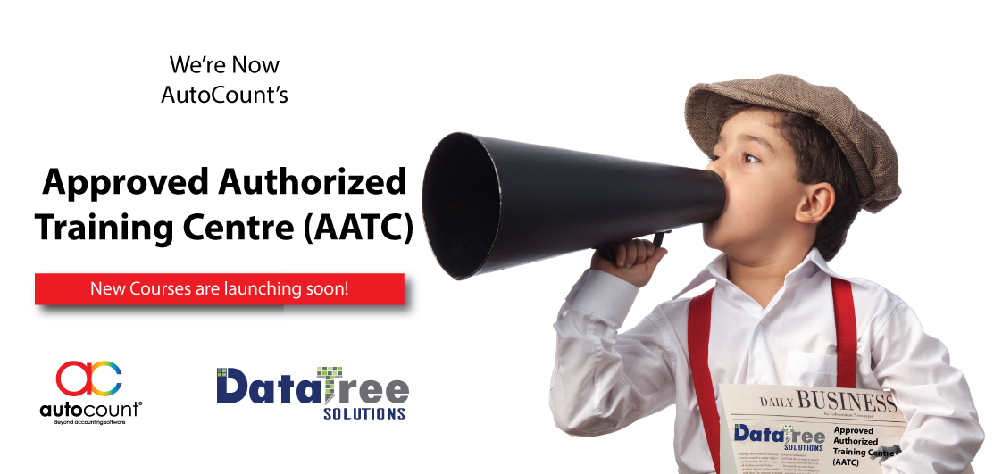 We're now Official Approved Authorized Training Centre (AATC)