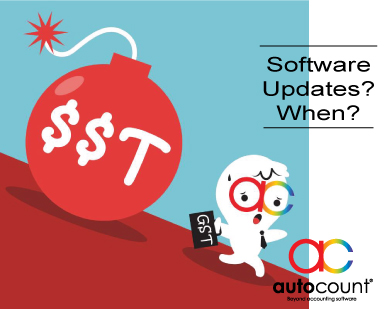 GST 6% to 0%: AutoCount Accounting Software updates
